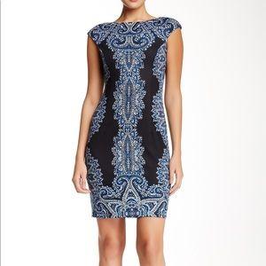 NWT Maggy London cap sleeve sheath dress—Size 14